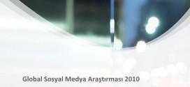 Global Sosyal Medya Araştırması 2010