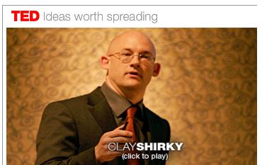 TED konuşmacılarından Clay Shirky ile Sosyal Medya