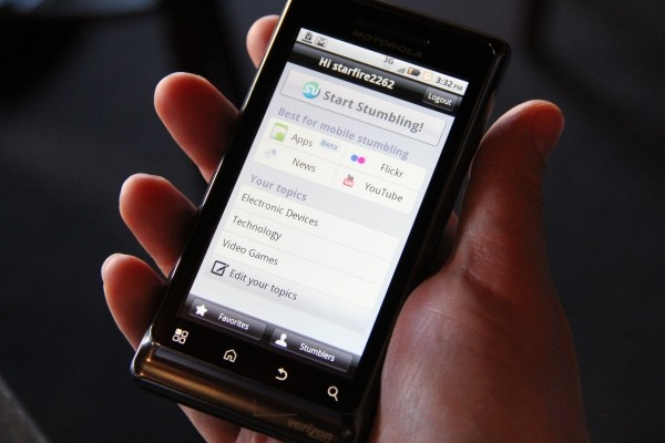 StumbleUpon'dan Android'e Özel Uygulama Tavsiyeleri