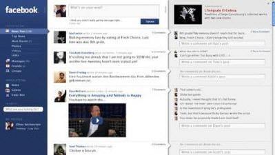 Facebook'un Tasarımı Komple Değişiyor