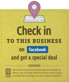 Facebook Fırsatlar (Deals) Avrupa'ya Giriş Yaptı