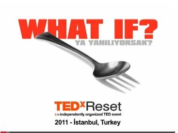 """""""Ya Yanlış Yere Tıkladıysak?"""" – TEDxReset 2011"""