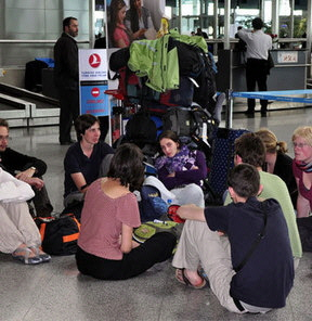 Sosyal Mecra: Sanki Havaalanı