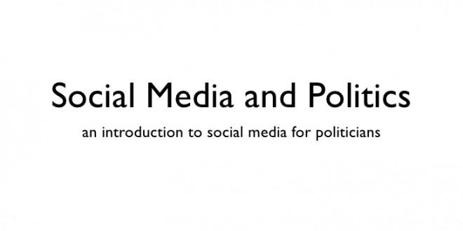 Siyasiler için Sosyal Medya'ya Giriş