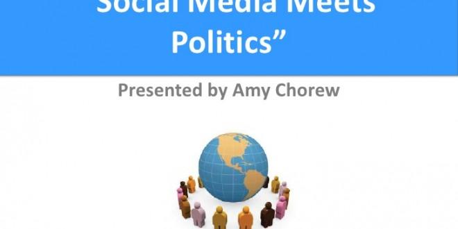 Sosyal Medya Siyasetle Tanışınca