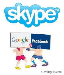 Facebook vs Google: Skype Kime Yar Olacak?