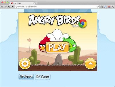 Angry Birds'ü Google Chrome İle Web Üzerinden Oynayabilirsiniz