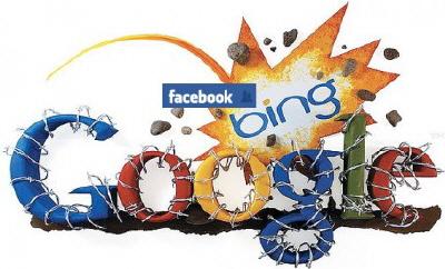 Bing ve Facebook Google'ın Üstesinden Gelmek İçin Güçlerini Birleştirdi