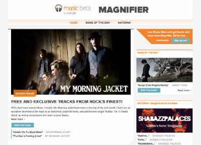 Google'dan Müzik Keşif Sitesi