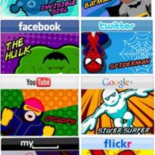 Sosyal Ağ Siteleri Süper Kahraman Olsaydı [İnfografik]