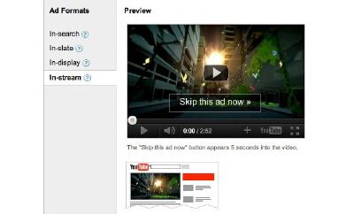 YouTube Reklamlarına AdWords Desteği