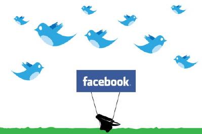 Facebook Sakinleşti, Twitter Uçuyor