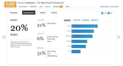 LinkedIn'in Yeni Hizmeti: Grup İstatistikleri