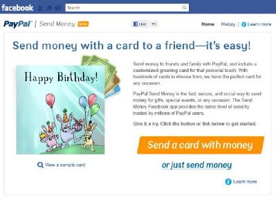 PayPal, Facebook Üzerinden P2P Para Transferi Başlattı