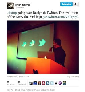 Twitter Kuşunun Adı 'Larry'miş