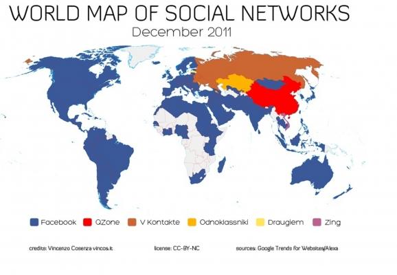 Rakamlarla Dünya Genelinde Sosyal Medya Kullanımı