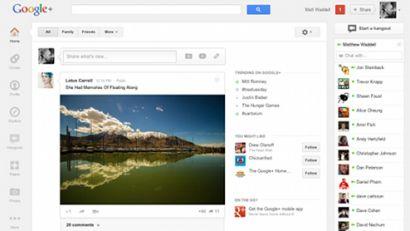 Google+ Yeni Ara Yüzünü Keşfe Çıkın!