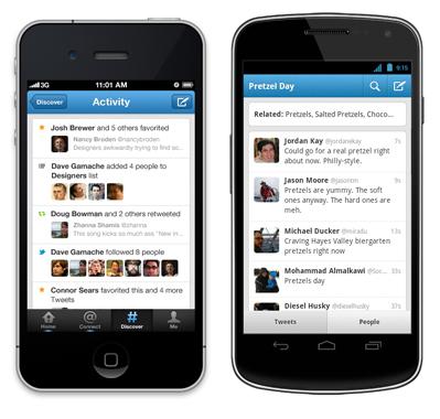 Twitter iOS ve Android Uygulamalarını Güncelledi, Arama ve Keşfet Özelliklerini Zenginleştirdi