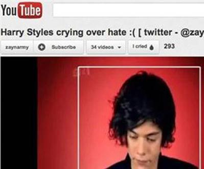 YouTube'a 'Ağladım' Butonu!