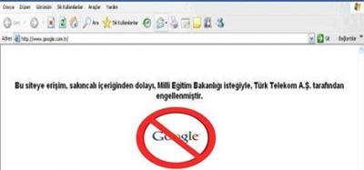 MEB'den Google'a Yasak!