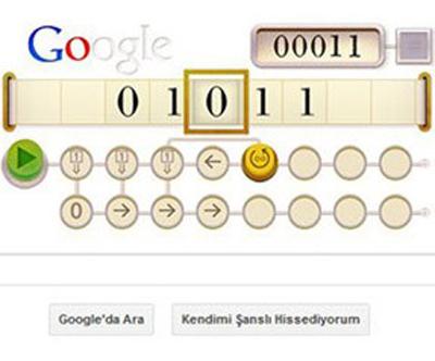 Google'dan Alan Turing İçin Doodle