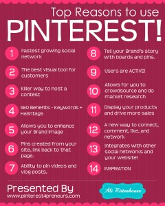Pinterest Kullanmak için Başlıca Nedenler