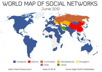 Hangi Ülke Hangi Sosyal Ağı Kullanıyor?