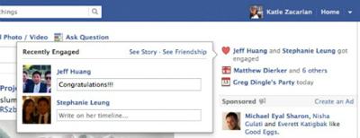 Facebook'tan İlişki Durumuna Özel Yenilik