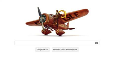 Google, Amelia Earhart'ı Andı