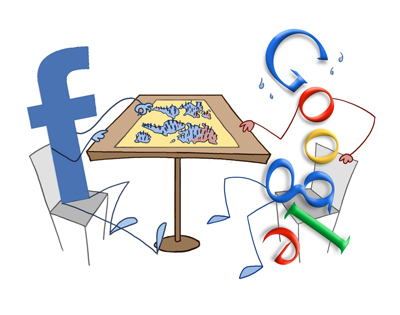 Google+, Facebook'u Ezdi!