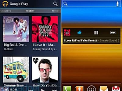 Google Play Music Yenilendi