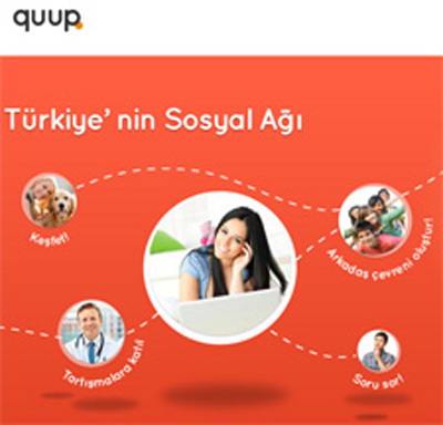Quup.com: Yüzde Yüz Yerli Sosyal Ağ