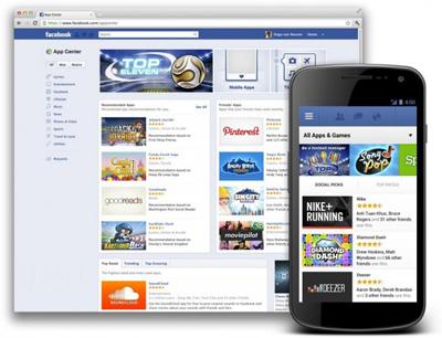 Facebook App Center Dünyanın Tamamının Erişimine Açıldı