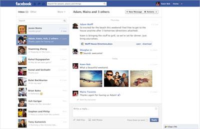 """Facebook """"Mesajlar"""" Sayfasını Değiştiriyor!"""
