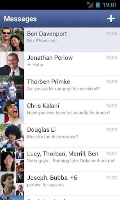 Android ve iPhone İçin Facebook Messenger'a Emoji Desteği Ve En Son Müsait Olunan Zaman Göster