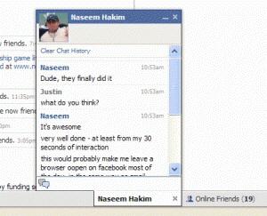 Facebook Sohbet Nedir?