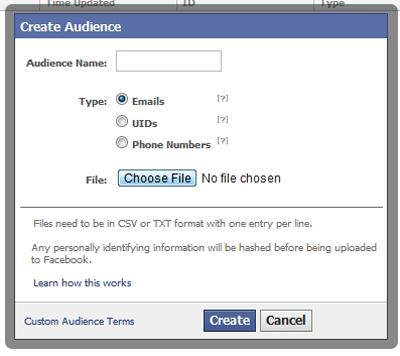 Facebook Telefon Numarası Ve E-posta Hedefli Reklam Seçeneğini Açıyor