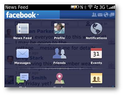 BlackBerry için Facebook 3.2 Versiyonuyla Bildirimler Ve Anımsatıcılar Geliştirildi