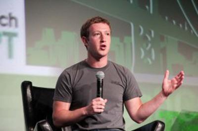 Zuckerberg'in Disrupt Konuşmasının Ardından Facebook Hisseleri Yüzde 7 Arttı