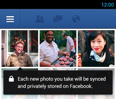 Facebook'tan Fotoğraf Senkron Yeniliği