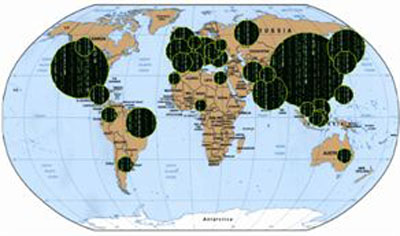 Ülkelerin İnternet Dünyasındaki Yeri Belli Oldu