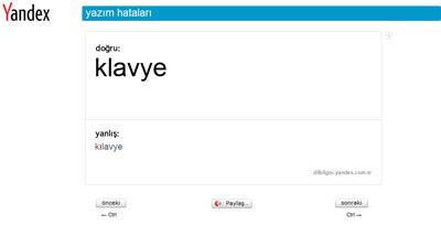 Yandex Türkçe Öğretiyor
