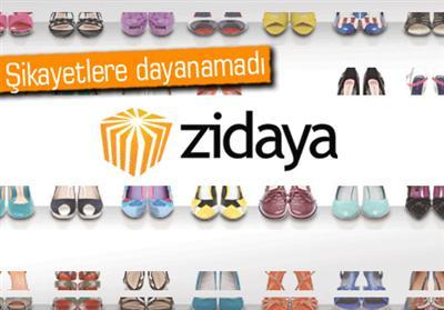 Zidaya.com adlı E-Ticaret Sitesi Kapatıldı