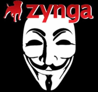 Anonymous Bu Kez Zynga'nın Peşinde