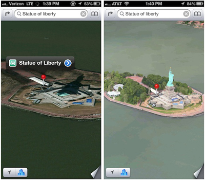 Apple Haritalar Uygulamasında İlk Değişiklikleri Gerçekleştirdi
