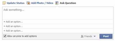 Facebook Soruları Aşamalı Olarak Kaldırmaya Başladı
