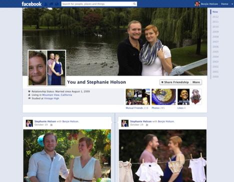 Facebook Arkadaş Sayfaları