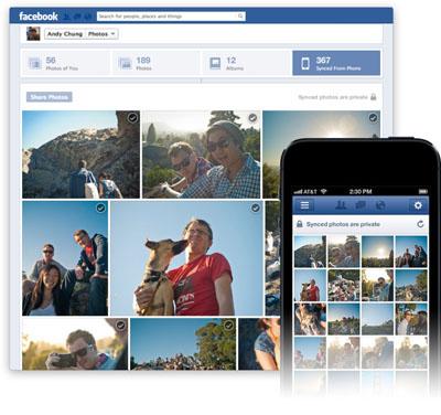 Facebook Fotoğraf Senkronizasyonunu iOS'a Taşıyor
