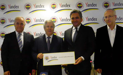 Fenerbahçe De Yandex'li Oldu!