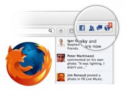 Firefox 17, Social API Yeniliğiyle Facebook'u Elinizin Altına Getiriyor